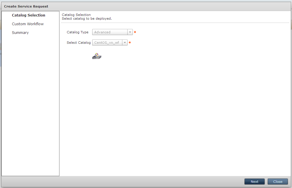 Работа с Workflow в Cisco UCS Director