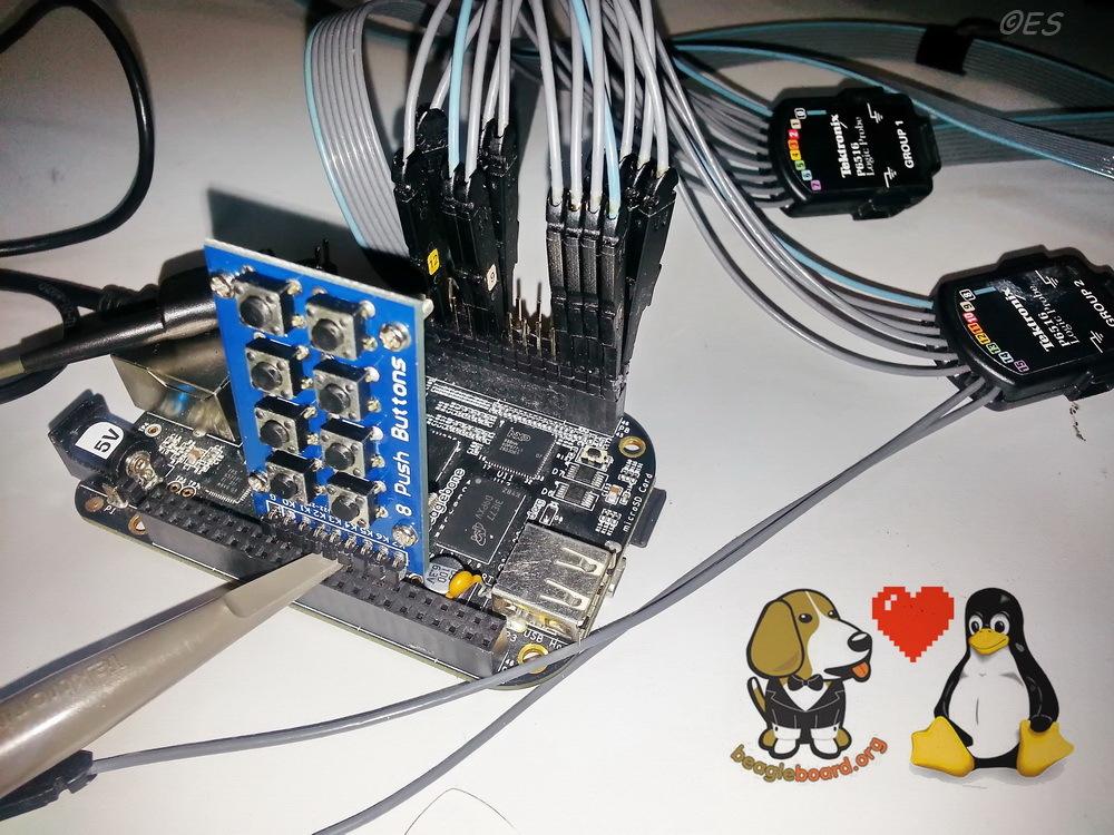 Real-time BeagleBone: использование высокоскоростных выводов