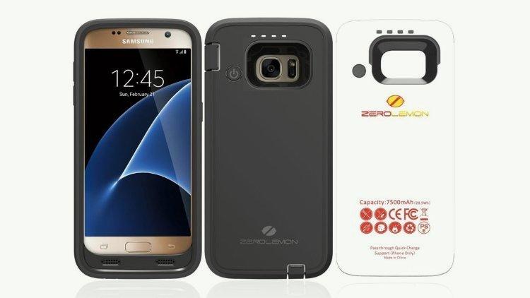 Чехол ZeroLemon позволит Galaxy S7 увеличить емкость аккумулятора в трое
