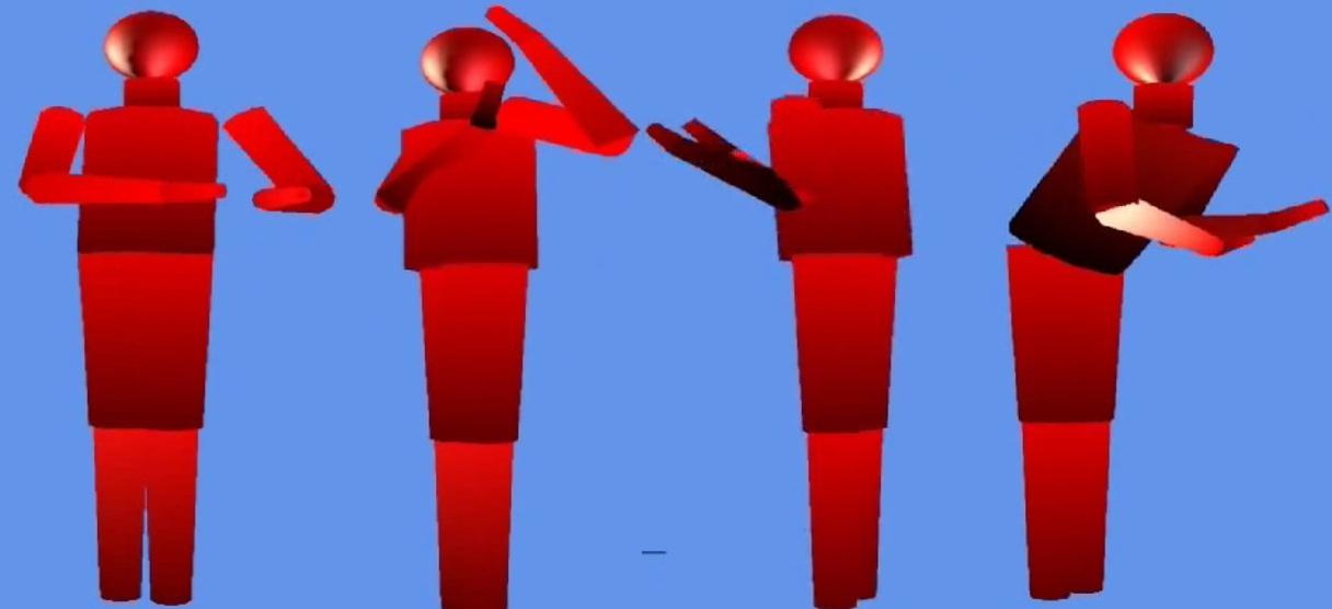 Применение МЭМС гироскопов и акселерометров для отслеживания движений тела человека