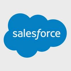 Лого Saleforce  в статье с видео обзорами