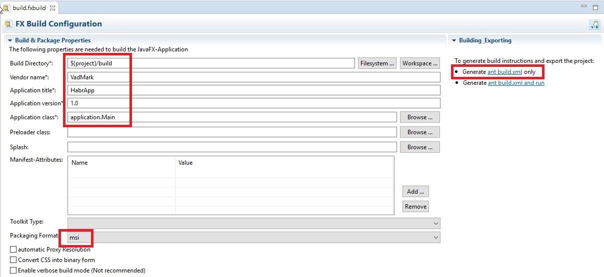 JavaFX наглядное создание простого приложения и нативная упаковка в