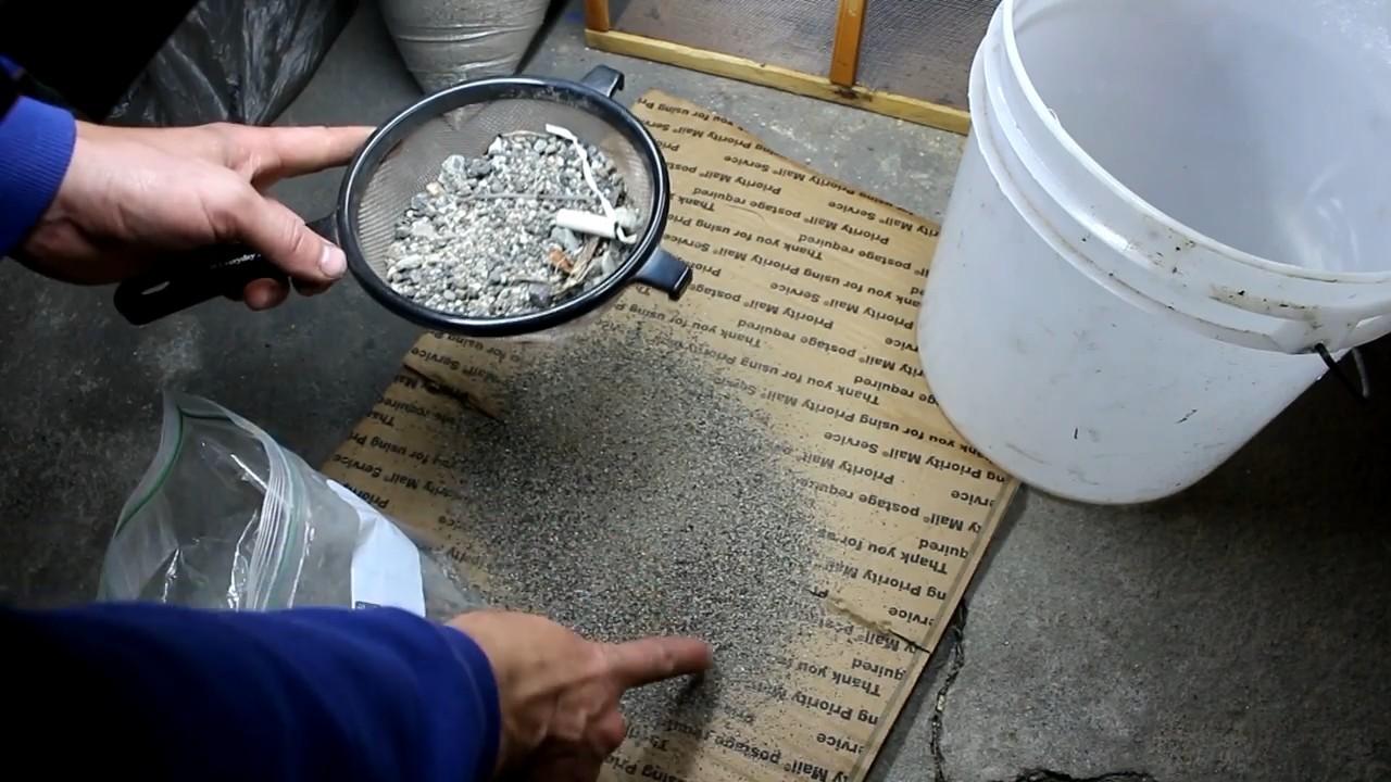 Добываем платину из дорожной пыли