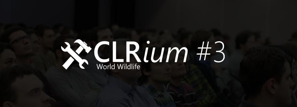 CLRium #3. Анонс докладчиков