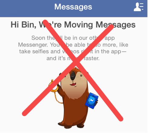 Лайфхак: как отвязаться от навязчивого желания Facebook перевести вас на их ...