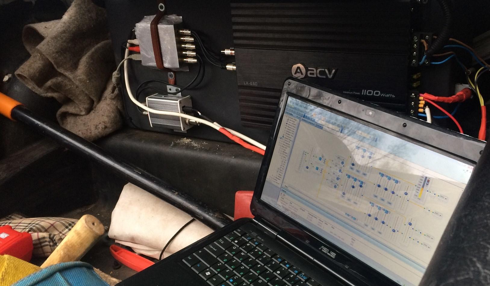 Как сделать процессорный звук в Жигулях