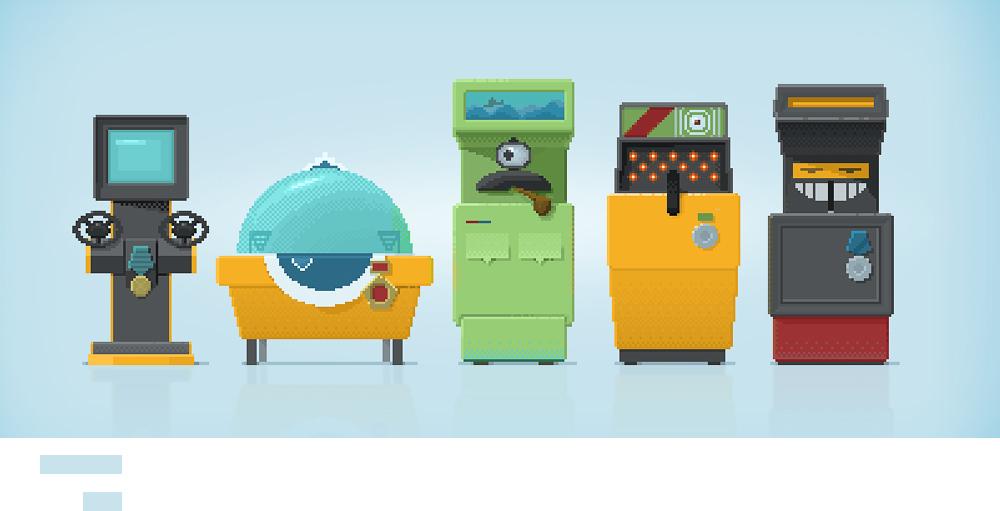 Игровой автомат blade mob desk