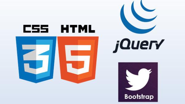 Как быстро создать индивидуальную Главную страницу с помощью сетки Bootstrap и библиотеки jQuery