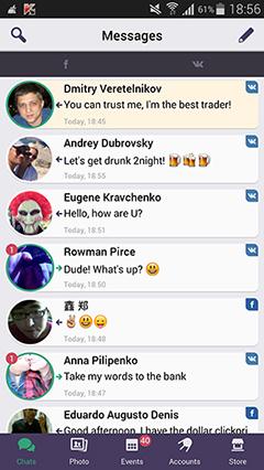 FLiPSi — одно приложение для переписки во всех социальных сетях