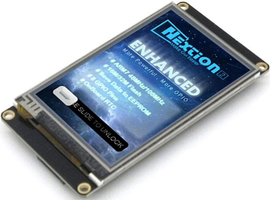 FLProg + Nextion HMI Enhanced / Блог компании FLProg / Хабр