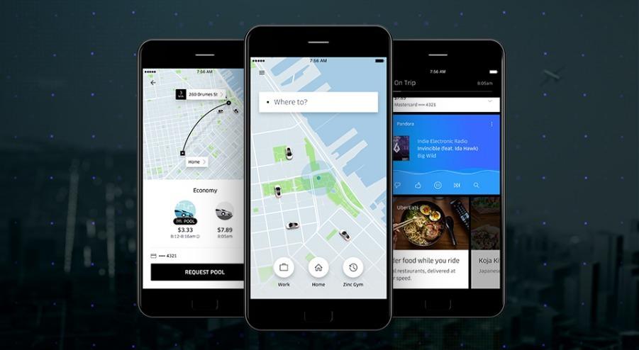 Разработка архитектуры нового приложения для пассажиров Uber