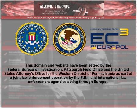 Правоохранительные органы закрыли известный киберпреступный форум Darkode