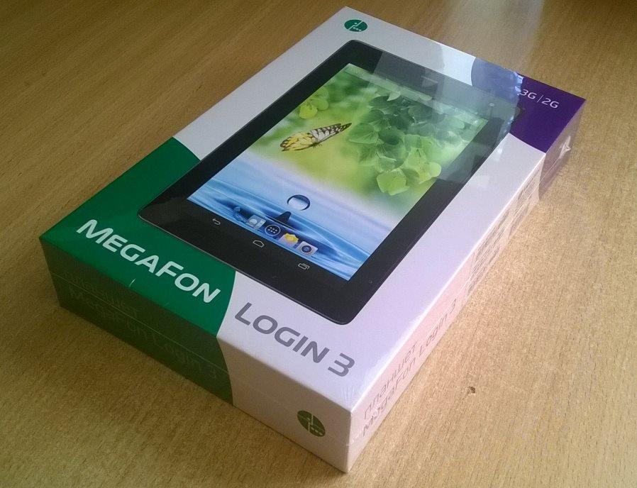 Плюсы, минусы и характеристики планшета «МегаФон