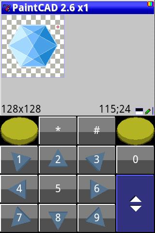 PaintCAD Mobile — пиксель арт на телефоне