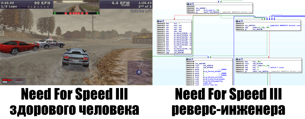 Разработка Need For Speed III Modern Patch