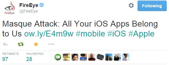 Apple прокомментировала ситуацию с уязвимостью Masque в iOS