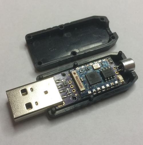 Самодельный USB-свисток с микрофоном, STM32 и ESP8266 на борту