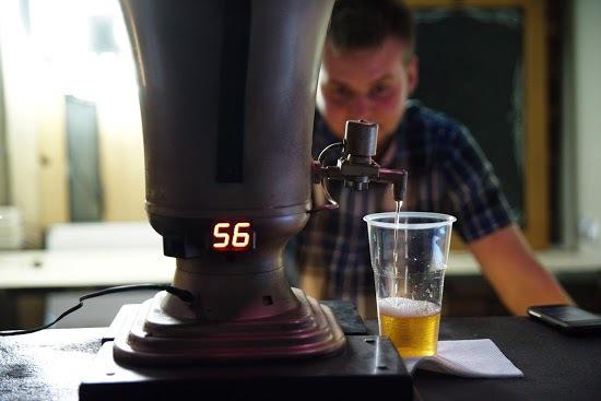 Налить пива силой мысли