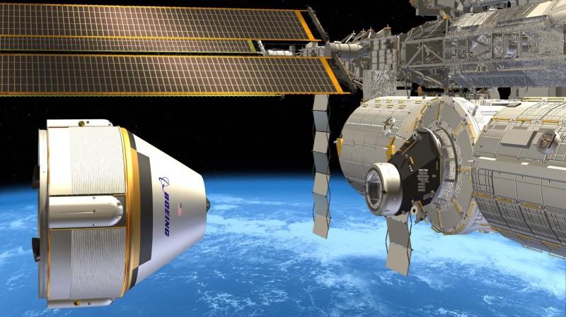 Доставкой астронавтов на МКС займутся Boeing и SpaceX