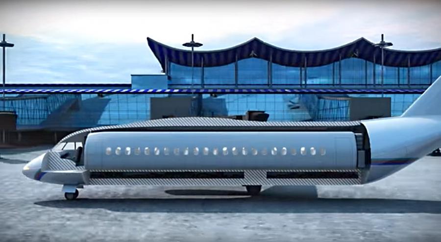 Система коллективного спасения пассажиров авиалайнера создана. Это не выгодно — отвечают в авиакомпа