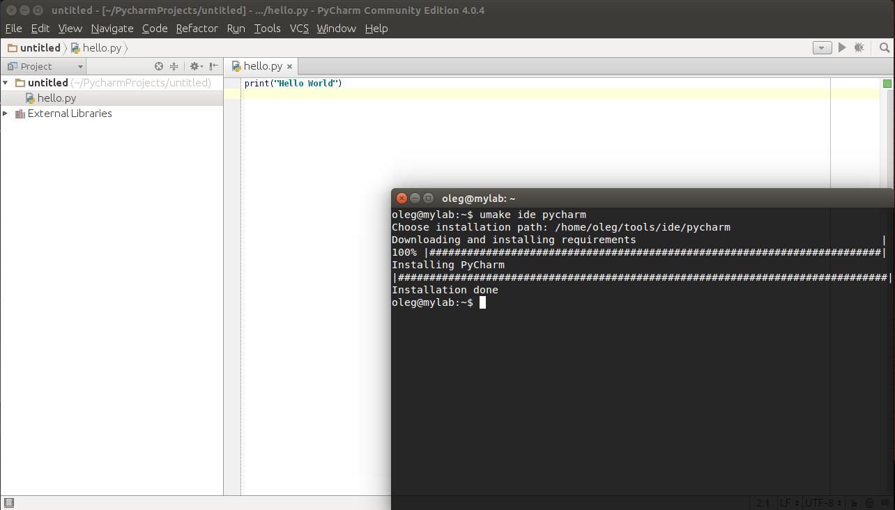 Ubuntu Make — разработчику в помощь