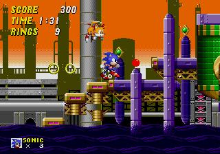 Обзор физики в играх Sonic. Часть 2: бег