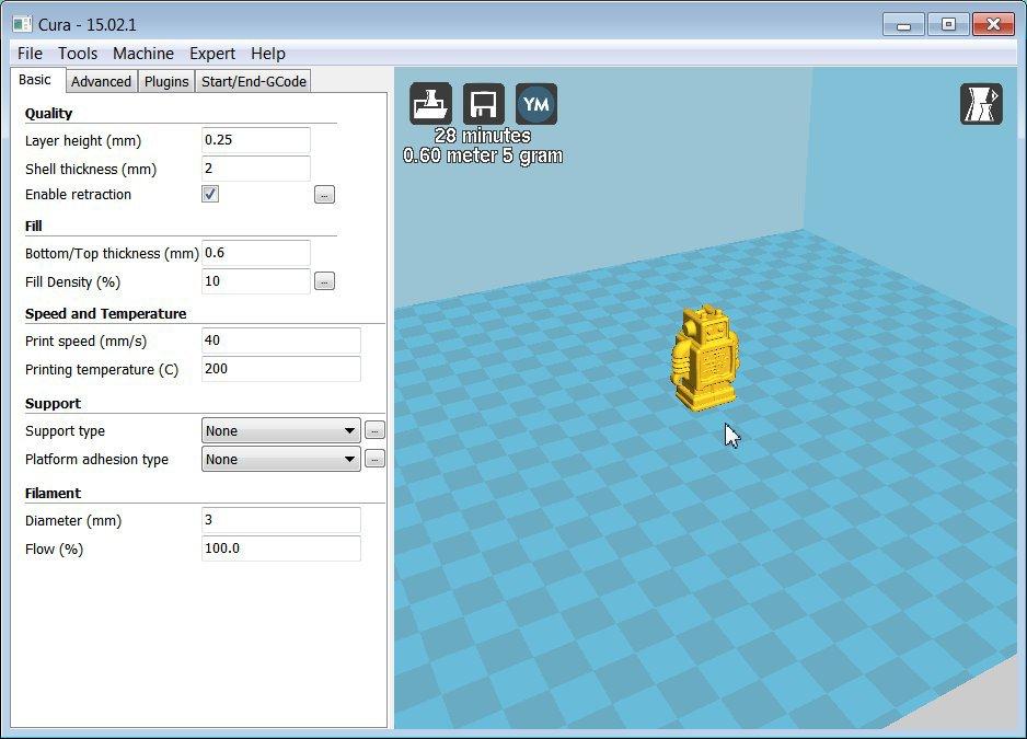 программы для 3d принтеров