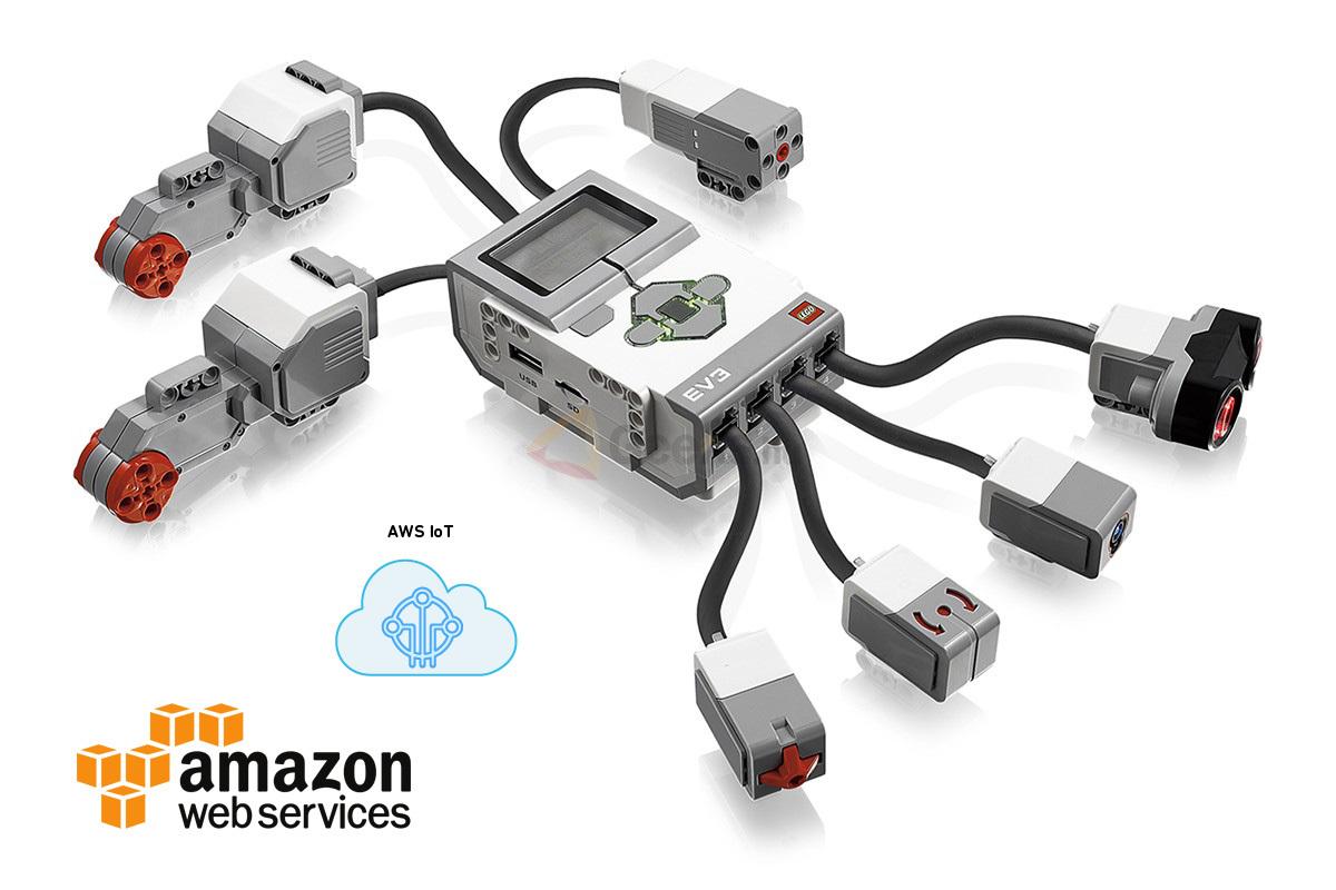 Как создать интернет вещей из «кирпичиков» LEGO на базе платформы AWS IoT