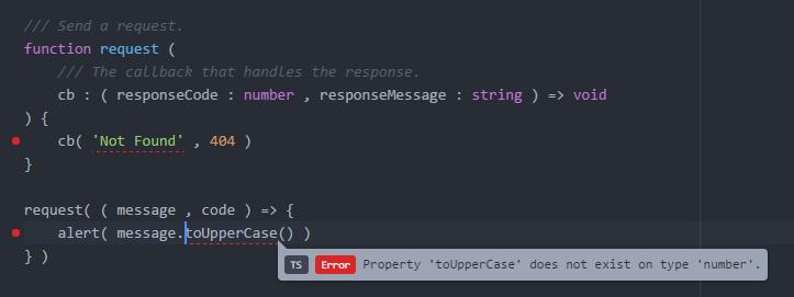 Atom понимает TypeScript