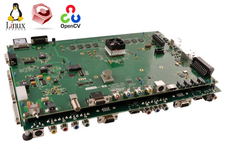 Использование DSP-сопроцессора DM8168 с помощью фреймворка C6Accel