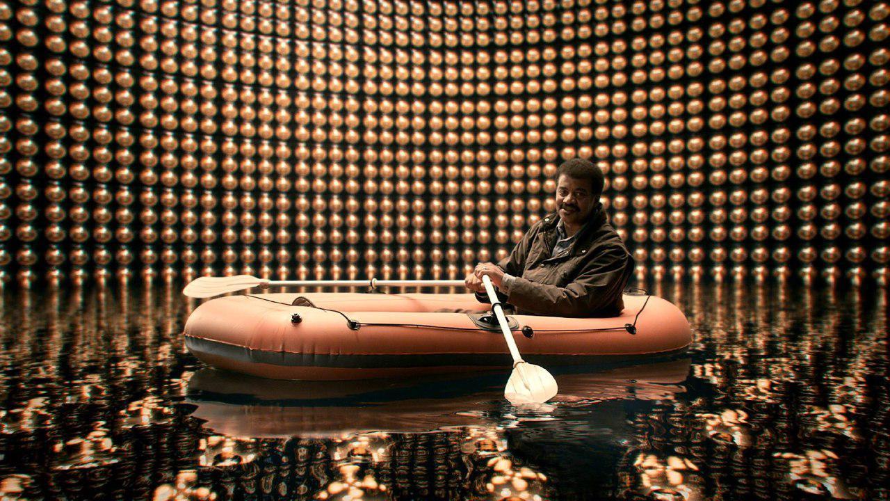 Тайсон Ніл Деграс в детекторі нейтрино