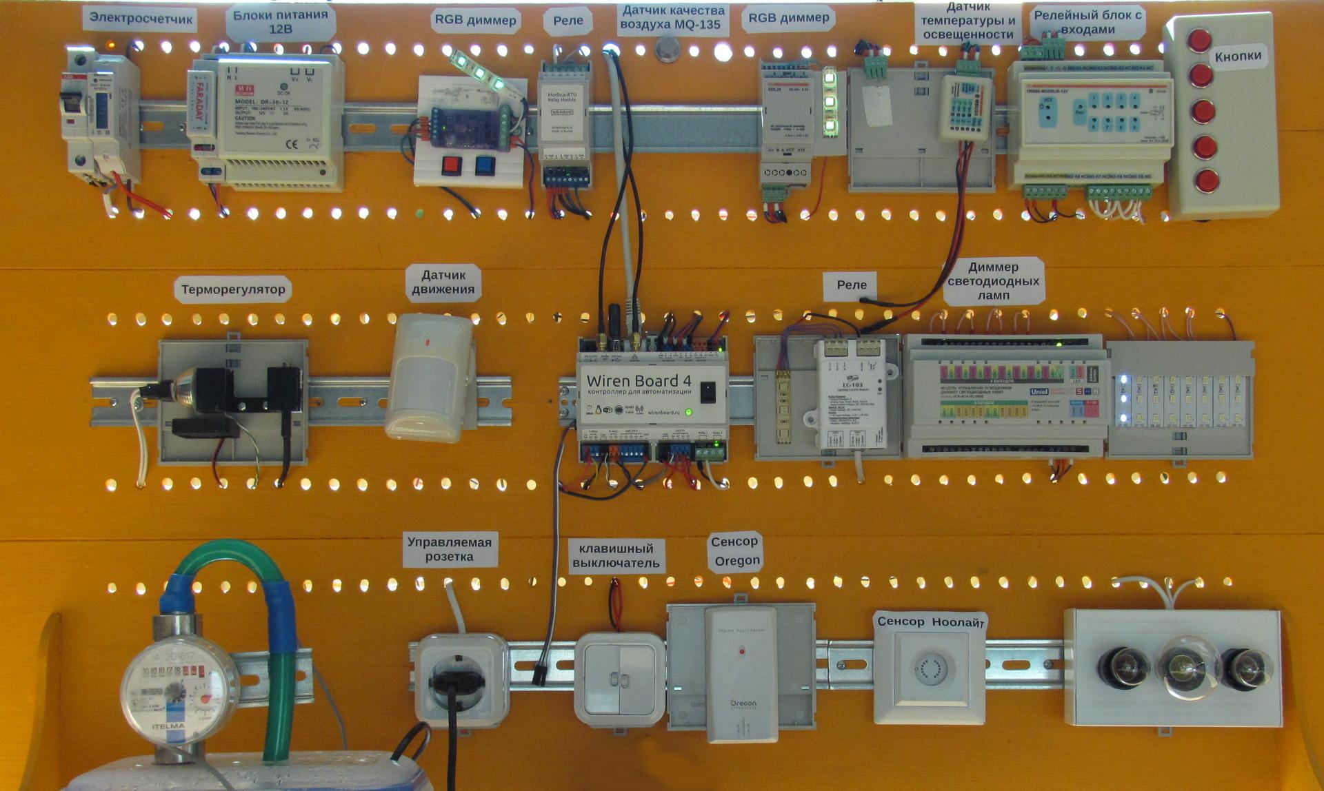 Как собрать умный дом на Wiren Board