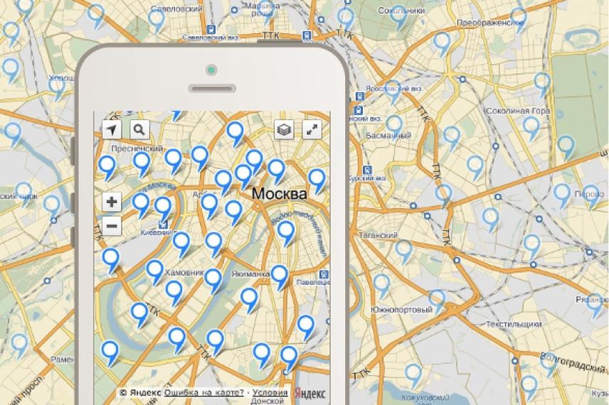 ObjectManager в API Яндекс.Карт. Как быстро отрисовать 10000 меток на карте и не затормозить всё вокруг