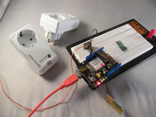 Управление электричеством по смс
