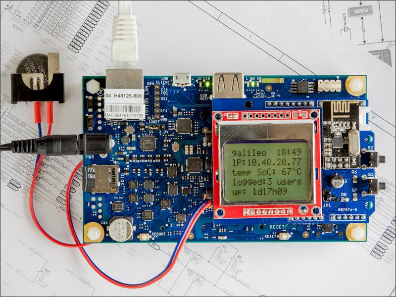 Практикум «Intel IoT». Galileo Gen2 — Linux & Arduino