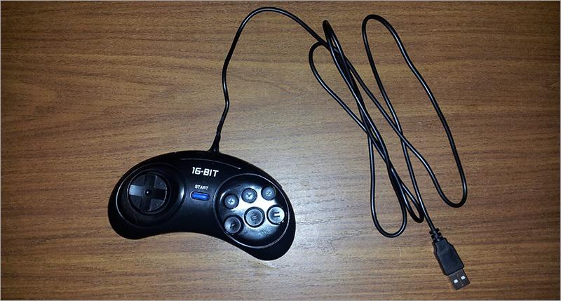 сам джойстик от Sega