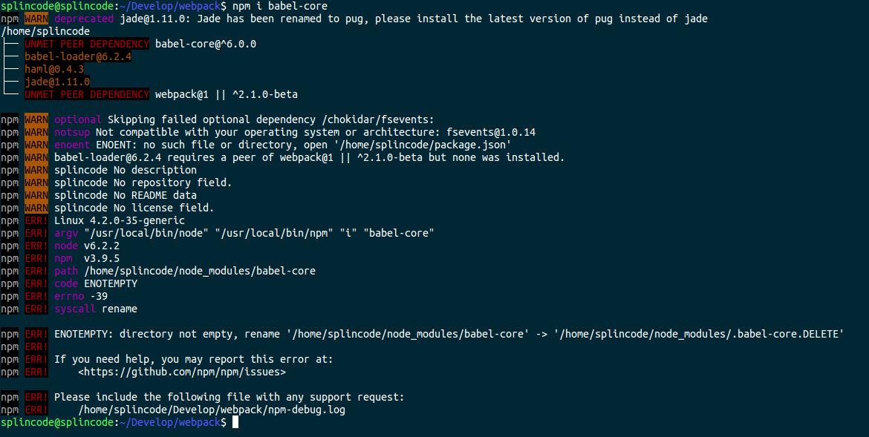 WEBPACK @BABEL - Как поставить плагин babel в webpack