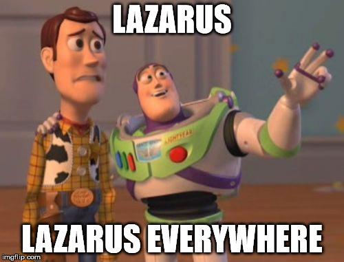 Lazarus вездесущий