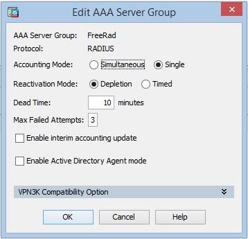 Двухфакторная аутентификация клиентов Cisco AnyConnect  FreeRadius и
