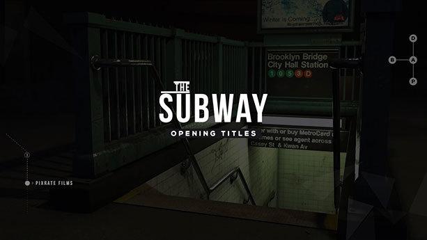 Subway l Opening Titles - 2