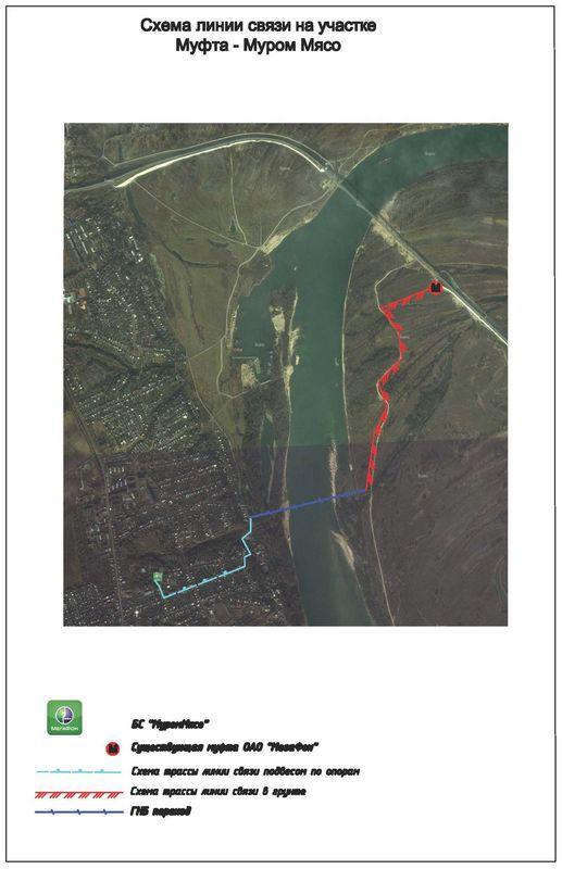 Как мы прокладывали кабель под дном реки