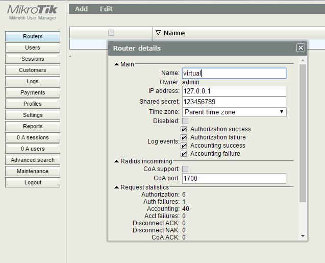 Организация HotSpot на оборудовании MikroTik с авторизацией