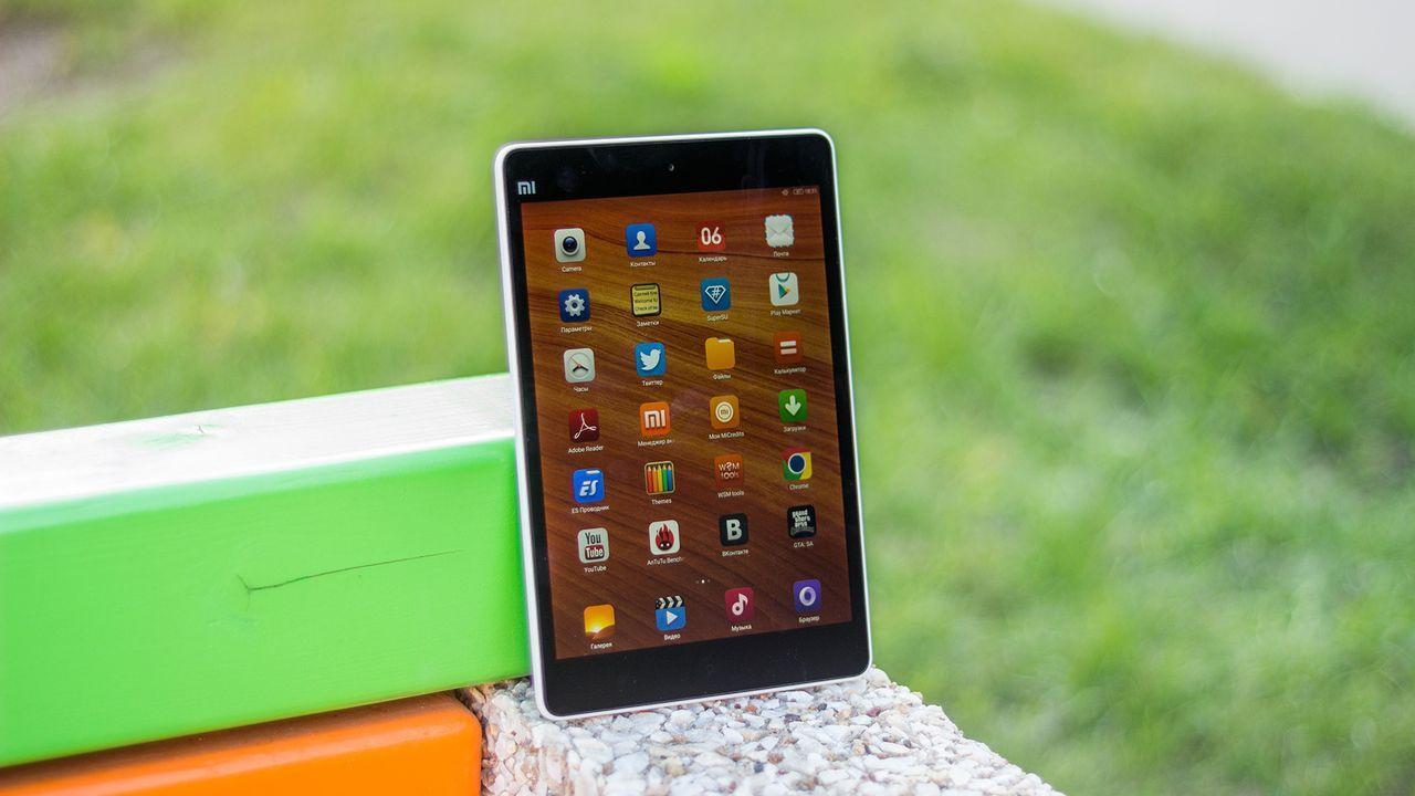 Xiaomi MiPad — топовый планшет из поднебесной