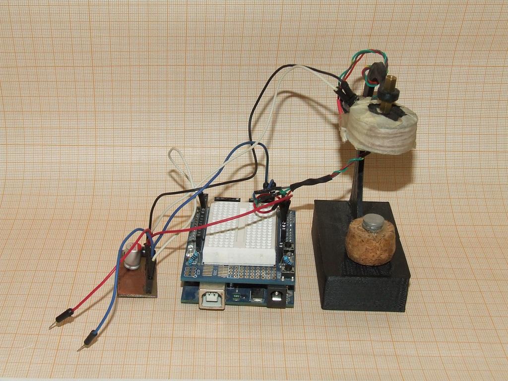 Левитрон на Arduino