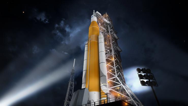 NASA: ракету США SLS утвердили и отправили в производство
