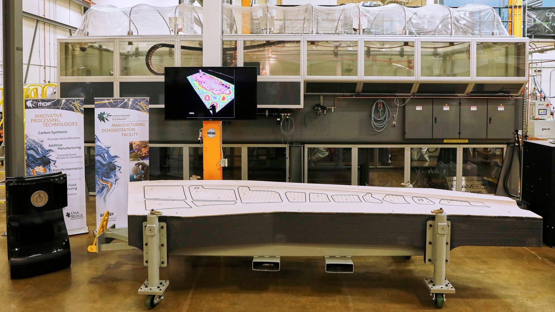 Новый рекорд 3D-печати: самый большой твёрдый предмет