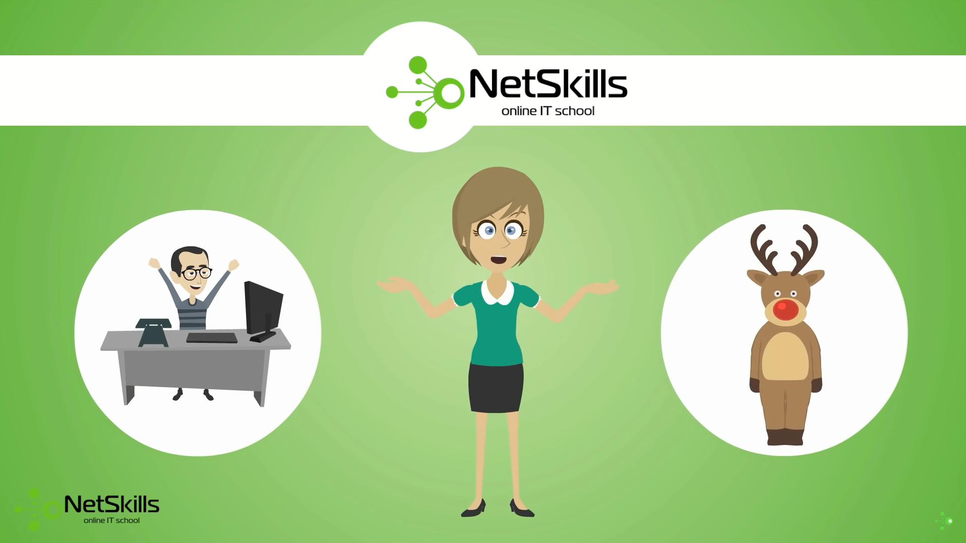 """Онлайн """"школа"""" сетевых технологий NetSkills"""
