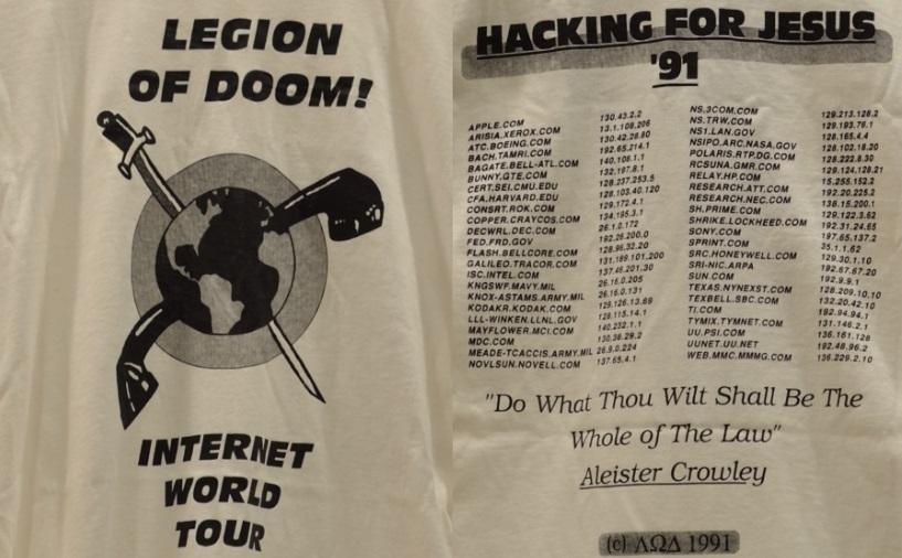 Великая война хакеров 1990 года (Great Hacker War)