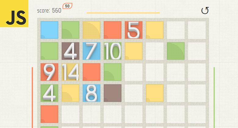 Bushed Bricks простая и увлекательная игра на JavaScript