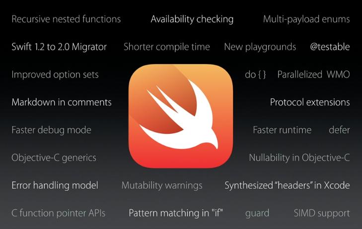 Swift 2.0 будет с открытым кодом в конце года